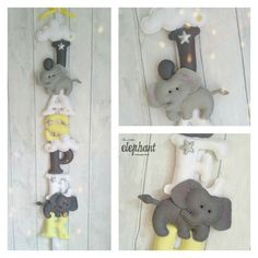 Hey, I found this really awesome Etsy listing at https://www.etsy.com/uk/listing/476357394/elephant-and-clouds-name-banner-felt