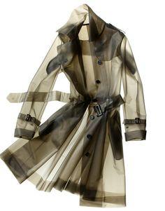 Tribeca raincoat trench by Terra NY Trench Coats, Rain Coats, Mode Lookbook, Dolly Fashion, Parasols, Checked Scarf, Raincoats For Women, Stylish Raincoats, Rain Wear
