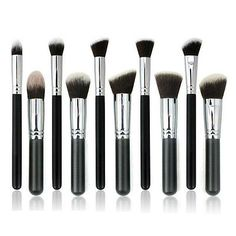 NEW Professional Makeup Brushes Set Pro Kabuki Cosmetics Brush Tool Kit - EXCLUSIVE DEAL! BUY NOW ONLY $11.89