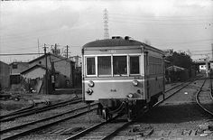 別府鉄道野口線 キハ101 別府港 1976.2.19.
