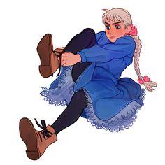 im a fat drunken aristocrat Hayao Miyazaki, Howl's Moving Castle, Totoro, Studio Ghibli Art, Studio Ghibli Movies, Studio Ghibli Characters, Character Inspiration, Character Art, Character Design