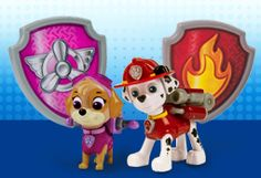 PAW Patrol Toy Action Pack Pup & Badge Photo