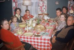 Kodachrome- Thanksgiving 1950s... http://www.pinterest.com/pin/7318418120298857/