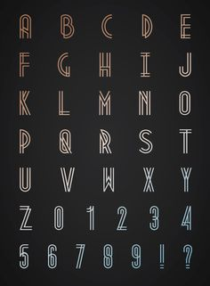 Metropolis 1920 – Free Art Deco Font Poster B