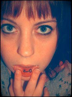 25 Surprisingly Shocking Inner Lip Tattoo Designs