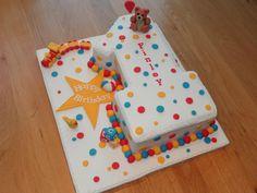 Boy 1st birthdaythis is soo cute Cake Decorating 1s 2s Boys