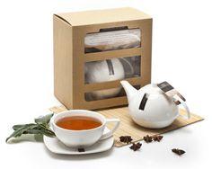 Zestaw upominkowy Herbata Darjeeling RICHMONT z eleganckim zestawem DUO. Idealny pomysł na prezent!