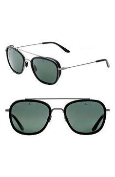 8a0a85d52710 VUARNET Designer Glacier 54mm Polarized Aviator Sunglasses Polarized  Aviator Sunglasses