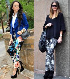 pantalon flores street style