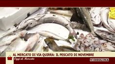 Al mercato di via Quirra: Il pescato di novembre Una ricetta al giorno: Trancio di tonno con carciofi e patate.