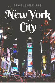 New York City is a tourist's paradise! But danger lurks around every corner. Learn to travel safe at the airport, in taxis, the subway, your hotel and on the streets. via @trivago