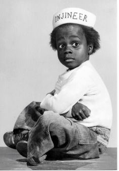 I just think Buckwheat is the cutest thing EVER #otay #littlerascals