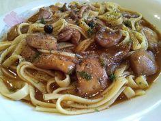 σουπιές_με_λαζανάκια_ Spaghetti, Food And Drink, Ethnic Recipes, Noodle