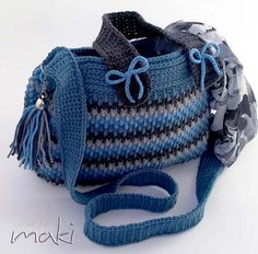 Crochet pattern -Water drops bag - Crochet handbag!! Permission to sell finished items. Pattern No. 241