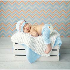 Baby Strickmütze Neugeborenen Fotoshooting Newborn Fotografie Kinderfoto Leonie