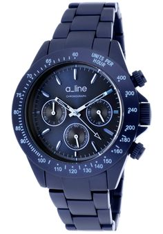 Price:$129.99 #watches a_line 20050-NB, a_line's Amore collection follows a_line's philosophy of bringing women the same quality and luxury of watches that men have been getting for years at a value. To that end a_line allows women to wear a large timeless watch that has a feminine touch. Your husband will be jealous.
