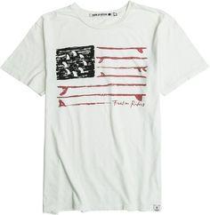 IRON & RESIN FREEDOM FLAG SS TEE > Mens > Clothing > Tees Short Sleeve | Swell.com