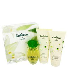 Cabotine By Parfums Gres Gift Set -- 3.4 Oz Eau De Toilette Spray + 6.7 Oz Body Lotion + 6.7 Oz Shower Gel