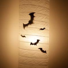 Law of Taste: Four Quick DIY Halloween Ideas / Četiri brze Halloween ideje - Shadowy Bats