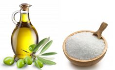 With the help of olive oil and sea salt, you can prepare a potent mixture which you can use to massage a painful and sore neck and alleviate. Olives, Massage, Health World, Medical Prescription, Pain Relief, Migraine Relief, Natural Health, Olive Oil, Natural Remedies