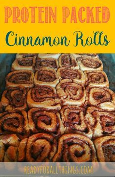 These cinnamon rolls are delicious! They are made from Kodiak Cakes Power Flapjack Mix, which is full of protein. They are perfect for dessert or a great part of nutritious breakfast.