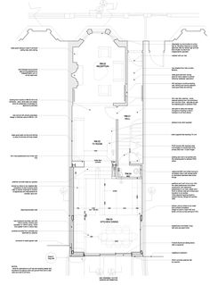 Image 13 of 27 from gallery of Highbury House / Architecture for London. Proposed Second Floor Plan House Extension Plans, Rear Extension, Extension Ideas, Architecture Details, House Architecture, Architecture Drawings, Victorian Terrace House, House Extensions, Kitchen Extensions