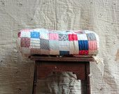 *Antique 9 Patch Quilt   *Hand Stitched Quilt  *Country  *Southern Charm  *Inspiration- theme