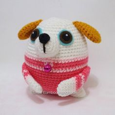 Dog The 12 Zodiac Egg Amigurumi Pattern