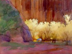 Lee Gordon Seebach, Watercolor