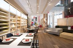 Liberty Village opens at Hanna Avenue Toronto, Liberty, Restaurant, Inspiration, Furniture, Design, Home Decor, Projects To Try, Biblical Inspiration