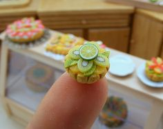 Shay Aaron: Handcrafted Fimo food mini-sculptures