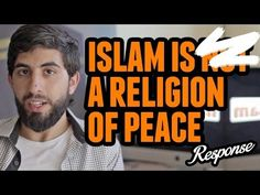 .Islam Is Not A Religion Of Peace ᴴᴰ ┇ Muslim Response ┇ by Kamal Saleh ┇ awesome video ma sha allah and dont forget to the read the best comment on the youtube link makes the video EVEN more AWESOME!!!!