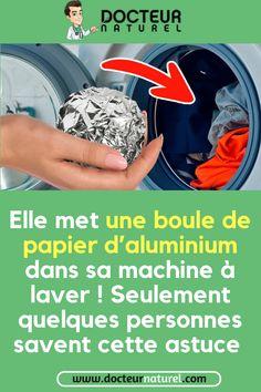 Voici pourquoi vous devez mettre des boules d'aluminium dans votre machine à laver #aluminium #lavage #vetement #astuce #maison Bullet Journal, Photoshop, Voici, Blackwork, Laundry, Golf, Articles, Iphone, Diy