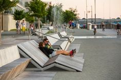 Melhor Arquitectura Paisagista: Stoss Paisagem Urbanismo: O CityDeck, Green Bay, Wisconsin, EUA