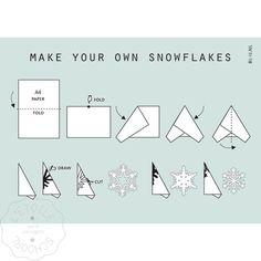 BL-IJ Snowflakes maken met mal | L'Etoile Conceptstore
