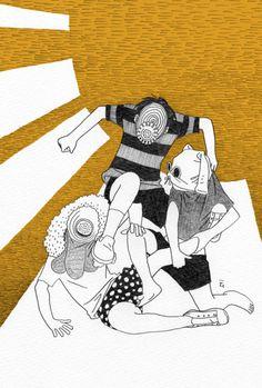 Nimura daisuke Web Artworks on tumblr #Illustration