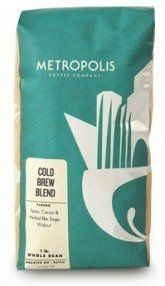 Metropolis Coffee Company - Cold Brew Blend, Dark Roast (Whole Bean, Bag) Coffee Tasting, Iced Coffee, Coffee Shop, Decaf Coffee, Pour Over Coffee, Fresh Coffee, Coffee Packaging, Dark Roast, Coffee Company