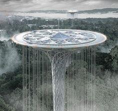 amazon rainforest guardian skyscraper by jie huang, jin wei, qiaowan tang, yiwei yu, zhe hao