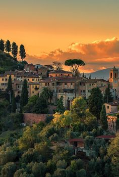 My inner landscape - robyketti:   Palaia Toscana  ©Klaus Kheris