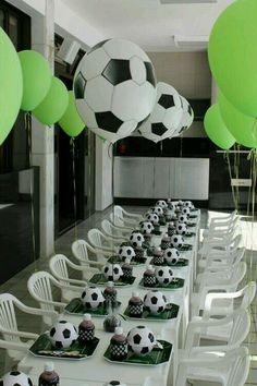 Soccer party ♥♥