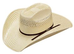 Double S Two Tone Straw Cowboy Hat | AA Callisters