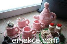 Amigurumi Çay Seti Yapılışı