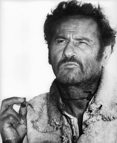 """Le bon, la brute et le truand""Eli Wallach Western Film, Western Movies, Hollywood Icons, Classic Hollywood, Sergio Leone, Films Cinema, Celebrity Deaths, Tv Westerns, Pinstriping"