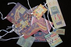 Vintage 4th of July Fireworks Tags  Set of 12 by SentimentalThings, $3.00