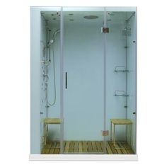Aston ZAA208 59 in x 36 in x 86 in Steam Shower Right Hand
