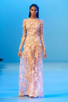 Ellie Saab 2014 - with a another under layer this could work