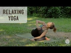 Relaxing Yoga Routine ♥ Zen Out (open level) - YouTube