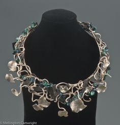 """Necklace   Mellington Cartwright.  """"You May Kiss Only my Hand"""""""