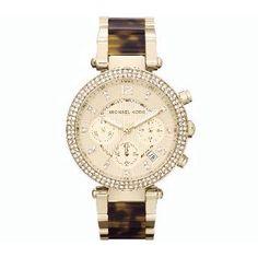 Michael Kors Golden Parker Glitz Watch
