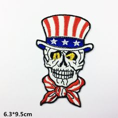 New to craftapplique on Etsy: funny hat patch skull patch US Flag skull freak patch git patch punk patch back patch iron on patch sew on patch USD) Funny Patches, Hat Patches, Cool Patches, Sew On Patches, Iron On Patches, Wholesale Promotional Products, Funny Hats, Back Patch, Letters And Numbers